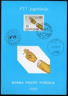 Yugoslavia 1990 / Anti Smoking Campaign / Prospectus, Leaflet, Brochure - Jugoslawien