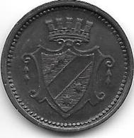 *notgeld  Dillingen 10 Pfennig 1917 Zn    2892.2 / F94.2 - [ 2] 1871-1918 : Empire Allemand
