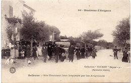 Environs D' AVIGNON - BELLEVUE - Site Charmant Bien Fréquenté Par Les Avignonais (1092 ASO) - Avignon