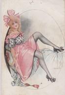 French Girls.  (  Un Petit Trou Au Dessus De La Carte ) Scan - Pepin
