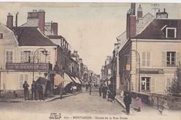 Montargis : Entrée De La Rue Dorée - Montargis