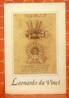 Leonardo Da Vinci Museo Vinci Invenzioni CARTOLINA Non Viaggiata - Antichità
