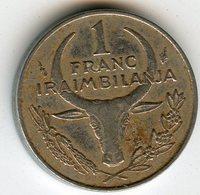 Madagascar 1 Franc 1993 KM 8 - Madagascar