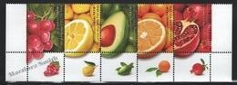 Israel 2009  Yv. 1953-57, Definitive, Fruits – Tab - MNH - Israel