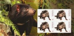 Australia 2019 Singapore Show Tasmanian Devil Gold Foil Minisheet MNH - Day 3 - Ungebraucht