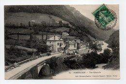 - CPA PONTSUZON (64) - Vue Générale 1911 - Edition Mirassou-Castéra N° 82 - - Other Municipalities