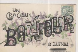 CPA-21-Côte D'OR- Un Gracieux Bonjour De BLAISY-BAS- - France