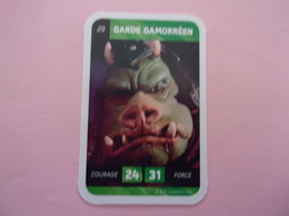 STAR WARS GARDE GAMORREEN LECLERC CARTE N°29 - Star Wars