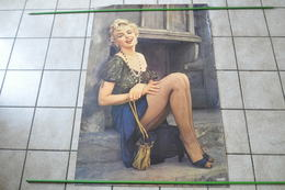 VIEILLE AFFICHE MARILYN MONROE - POSTER - Afiches