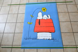 VIEILLE AFFICHE SNOOPY - POSTER - Afiches