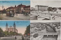 19 / 8 / 513  -  LOT. DE. 12. CPSM. &. CPM  DE. ORADEA    - Toutes Scanées - Roemenië