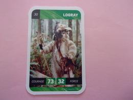 STAR WARS LOGRAY LECLERC CARTE N°30 - Star Wars