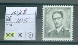 1073 Xx  Côte 105.00€ - Unused Stamps