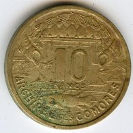 Comores Comoros 10 Francs 1964 KM 7 - Comores