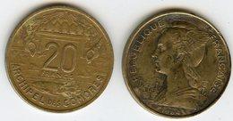 Comores Comoros 20 Francs 1964 KM 8 - Comores