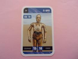 STAR WARS C-3PO LECLERC CARTE N°38 - Star Wars