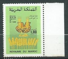 Maroc - Yvert N° 1016 **      -    Aab 23702 - Marruecos (1956-...)