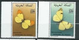 Maroc - Yvert N° 1017  /   1018  **    ( 2 Timbres )   -    Aab 23704 - Marruecos (1956-...)