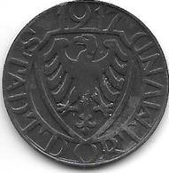 *notgeld  Dortmund 10 Pfennig 1917 Zn   3047.6 / F103.2 - [ 2] 1871-1918 : Impero Tedesco