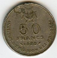 Comores Comoros 50 Francs 1975 KM 9 - Comores