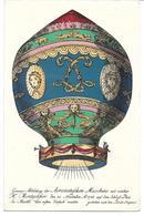 1672w: Ballonpost- Landeort Laa An Der Thaya, Schöne AK Aus Dem Jahr 1956 - Laa An Der Thaya