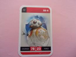 STAR WARS BB-8  LECLERC CARTE N°53 - Star Wars