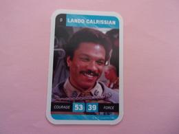 STAR WARS LANDO CALRISSIAN   LECLERC CARTE N°9 - Star Wars
