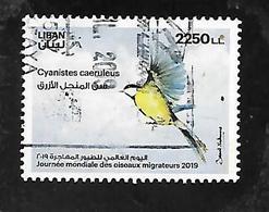 TIMBRE OBLITERE DU LIBAN DE 2019 - Libanon
