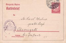 Kartenbrief Nach Obernzell  1915 - Allemagne