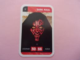 STAR WARS DARK MAUL LECLERC CARTE N°12 - Star Wars