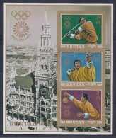 JUEGOS OLÍMPICOS - BHUTAN 1972 - Yvert #H46 Sin Dentar - MNH ** - Verano 1972: Munich
