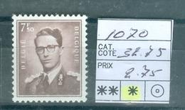 1070 X Côte 32.75€ - Unused Stamps