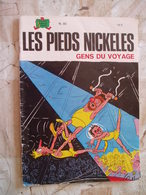 LES PIEDS NICKELES NO 85- GENS DU VAYAGES-PELLOS-1984 - Pieds Nickelés, Les