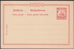 Germany 1901 - German Colonies. Postal Stationery, 'SAMOA'. MiNr. P 6. Ganzsache.(I) - Postwaardestukken