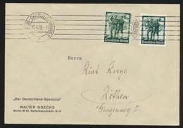 Deutsches Reich Brief MIF 662-3 Berlin Charlottenburg Nach Köthen Sachsen-Anhalt - Germany