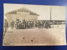 Treni Ferrovie Dello Stato Inaugurazione Stazione Bengasi 1914 - Gares - Avec Trains