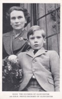 H.R.H. DUCHESS OF GLOUCESTER @ PRINCE RICHARD OF GLOUCESTER - Familles Royales