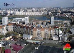 1 AK Belarus Weißrussland * Blick Auf Die Hauptstadt Minsk - Luftbildaufnahme * - Weißrussland