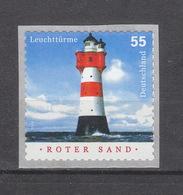 Deutschland BRD ** 2413 Roter Sand Selbstklebend Auf Folie Mit Nummer - Ongebruikt