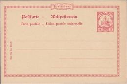 Germany 1901 - German Colonies. Postal Stationery, 'SAMOA'. MiNr. P 6. Ganzsache.(II) - Postwaardestukken
