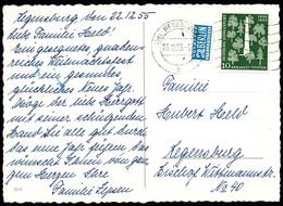 C7354 - Regensburg Stempel Bi Zone - [7] West-Duitsland