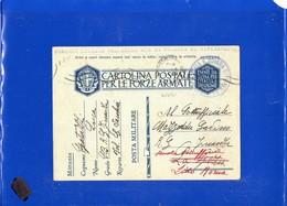 ##(DAN198)Italia 1941-cartolina Postale Forze Armate,da Brigata Vol.Regia Guardia Di Finanza-Civitavecchia Per Lido Roma - 1900-44 Vittorio Emanuele III