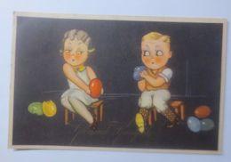 Ostern, Kinder, Mode, Ostereier  1935 ♥   - Ostern