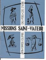RELIGION Bulletin Bimestriel MISSIONS SAINT-VIATEUR Par Les Clercs De Saint-Viateur N°142 Mars-avril 1965 (livret 23 P.) - Religion