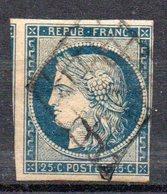 FRANCE - 1849 - YT N° 4 - Cote: 65,00 € - 1849-1850 Cérès