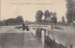 Environs De Lorris - Grignon - Les Bords Du Canal, L'écluse - France
