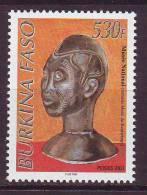 BURKINA FASO 2001. YT N° 1268**. Musée National - Burkina Faso (1984-...)
