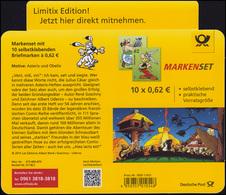 101 MH Asterix Und Obelix: Markenheftchen-Dummy Limitix Verkleinert Aus Plastik  - BRD