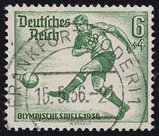 611 Olympische Sommerspiele 6+4 Pf Fußballspieler O - Germania