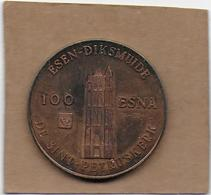 100 Esna  1982 DIKSMUIDE DE SINT-PETRUSKERK - Gemeentepenningen